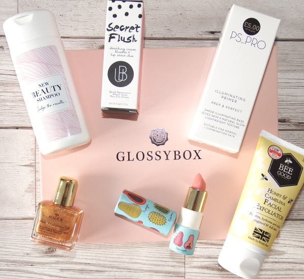 Glossybox October 2016 Review and Unboxing