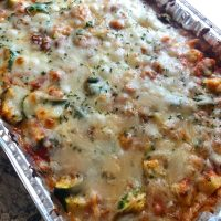 Italian Chicken and Zucchini Bake