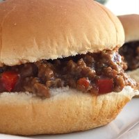 Crock Pot Kickin' Sloppy Joes