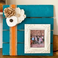 {Easy} Fall DIY Picture Frame