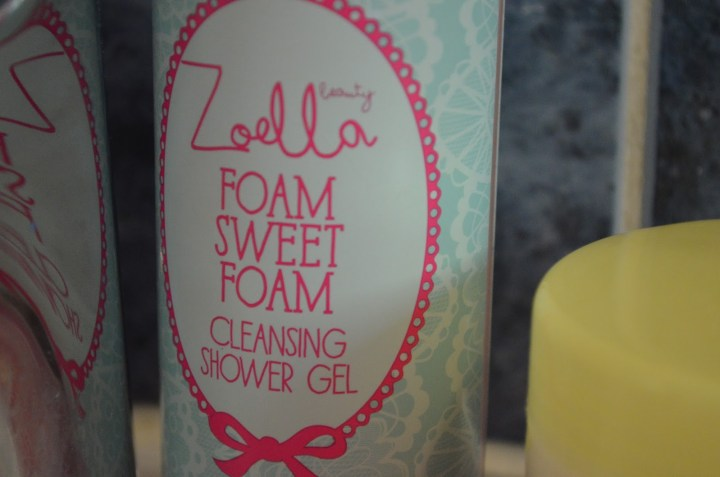 Review: Zoella Beauty Range: Tutti Fruity Foam Sweet Foam