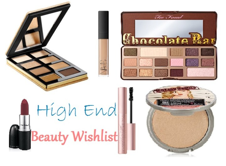 High End Beauty Wishlist