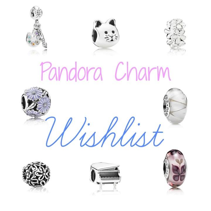 Pandora Charm Wish List
