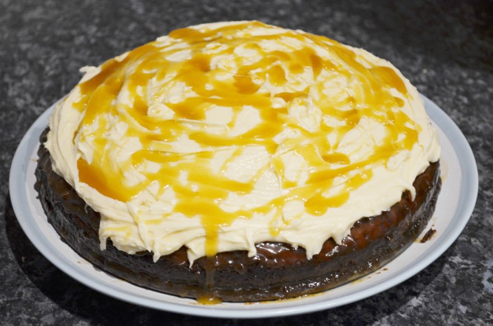 Toffee Cake Recipe With Buttercream & Toffee Sauce