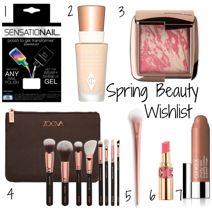 Spring Beauty Wishlist