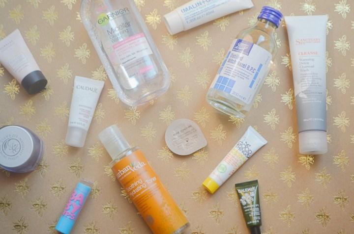 Skincare Secrets Flatlay
