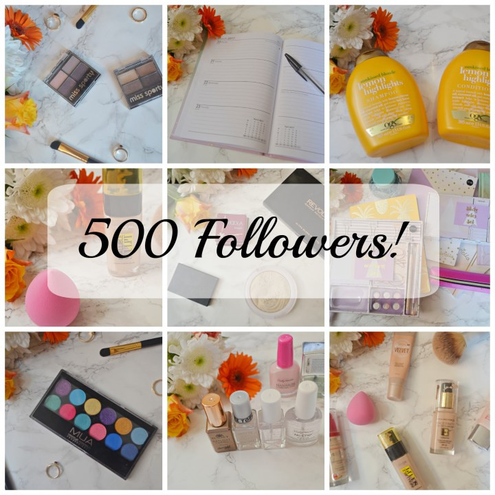 500 Followers!