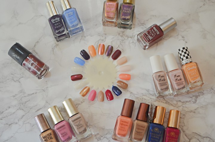Nail Polish Collection and Swatches