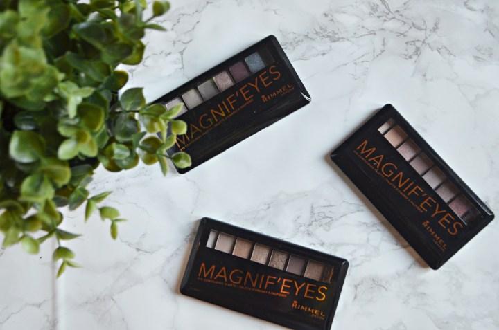 New : Rimmel Magnif-Eyes Palettes