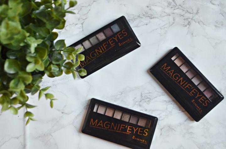 Rimmel Magnif-Eyes Palettes Review