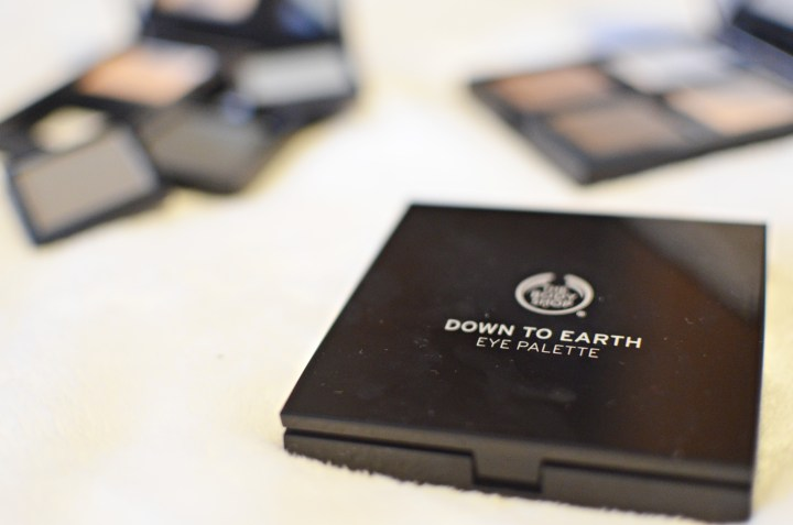 New | Body Shop Down To Earth Eye Palettes