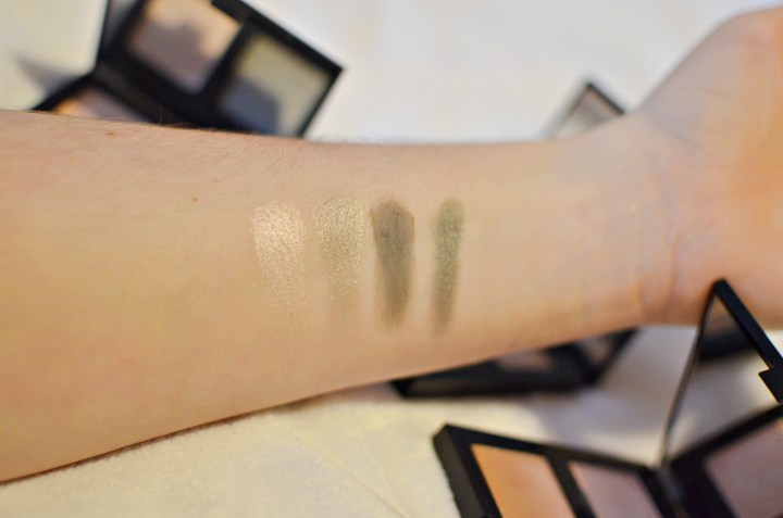 Review | Body Shop Down To Earth Eye Palettes Swatches