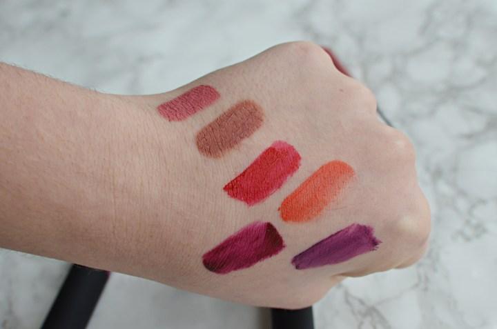 Review | Collection Velvet Kiss Lipsticks