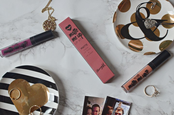 Review Barry M Matte Me Up Lip Kits