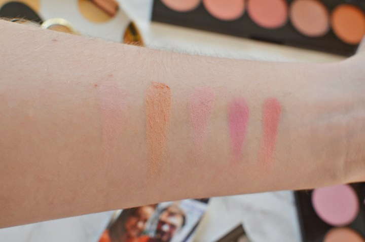 L'Oreal Infallible Blush Palette Review and swatches