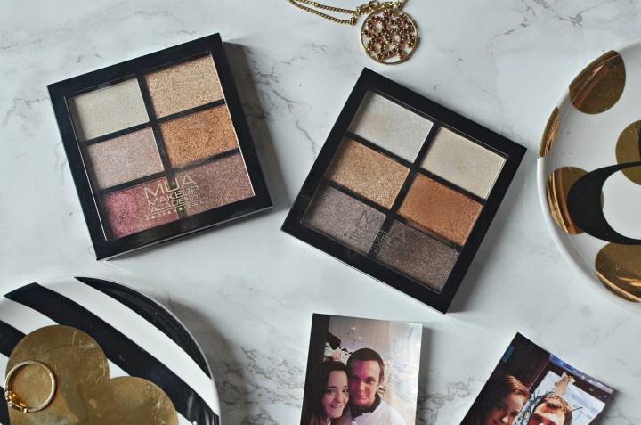 New | MUA 6 Shade Eyeshadow Palettes