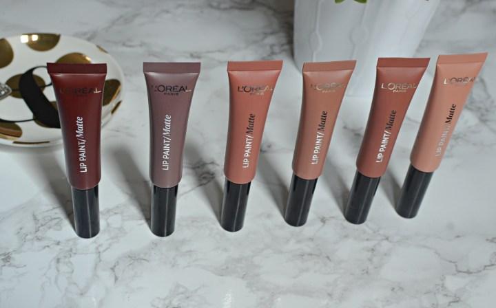 L'Oreal Lip Paint Matte Nudes