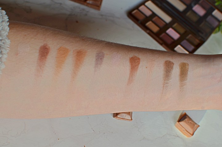 Swatches | Too Faced Matte Chocolate Chip Palette