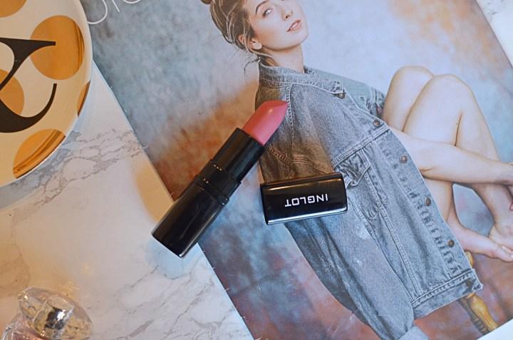 Inglot LipSatin Lipstick in 306