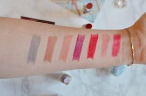 L'Oreal Paris Color Riche Shine Lipstick Swatches