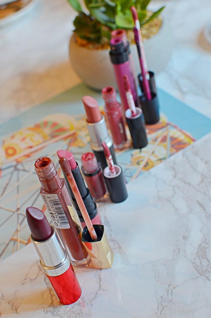 March Week In Lipsticks 1