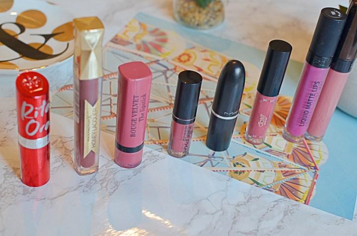 My Week In Lipsticks | March 2018