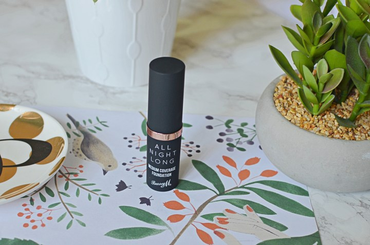 Barry M All Night Long Foundation Stick Review
