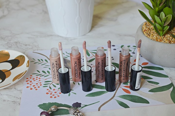 Collection Glam Crystals Liquid Eyeshadow Review