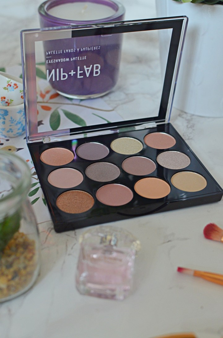 Nip + Fab Gentle Glam Palette Review