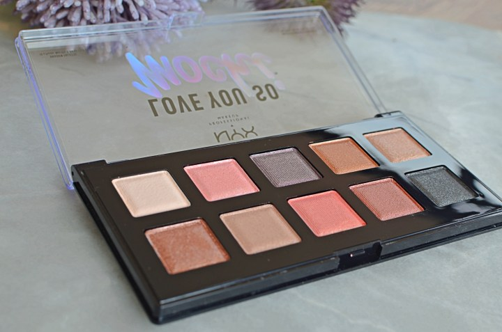NYX I Love You Mochi Palette 2