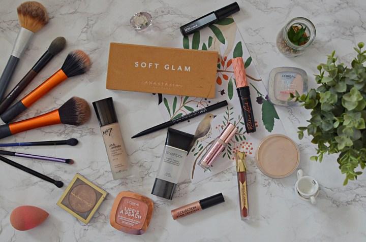 Makeup Favourites | Soft Glam Glitter GRWM