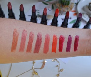 Bourjois Rouge Fabuleux Lipsticks Swatches