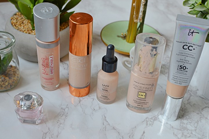 Top 5 Foundation Favourites