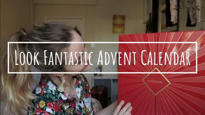 Look Fantastic Advent Calendar   SPOILER ALERT
