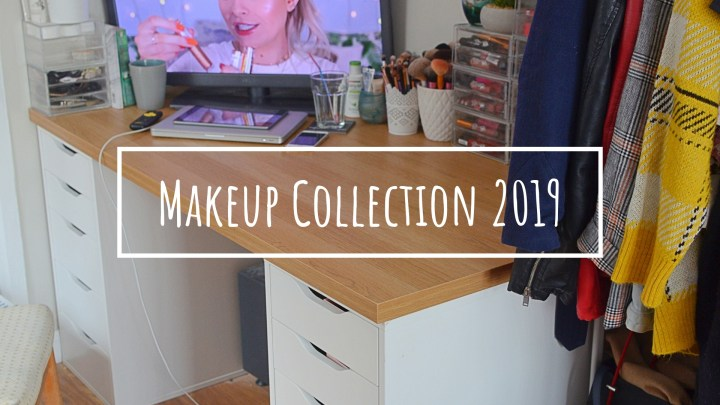 Makeup Collection & Storage 2019