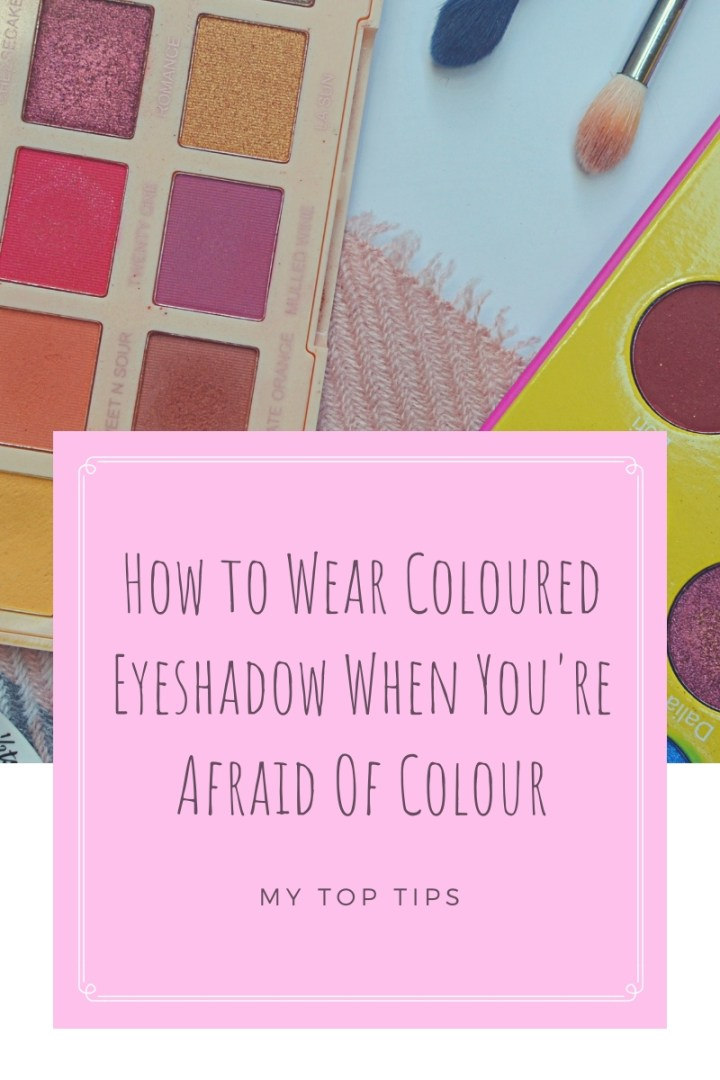 Coloured Eyeshadow Top Image