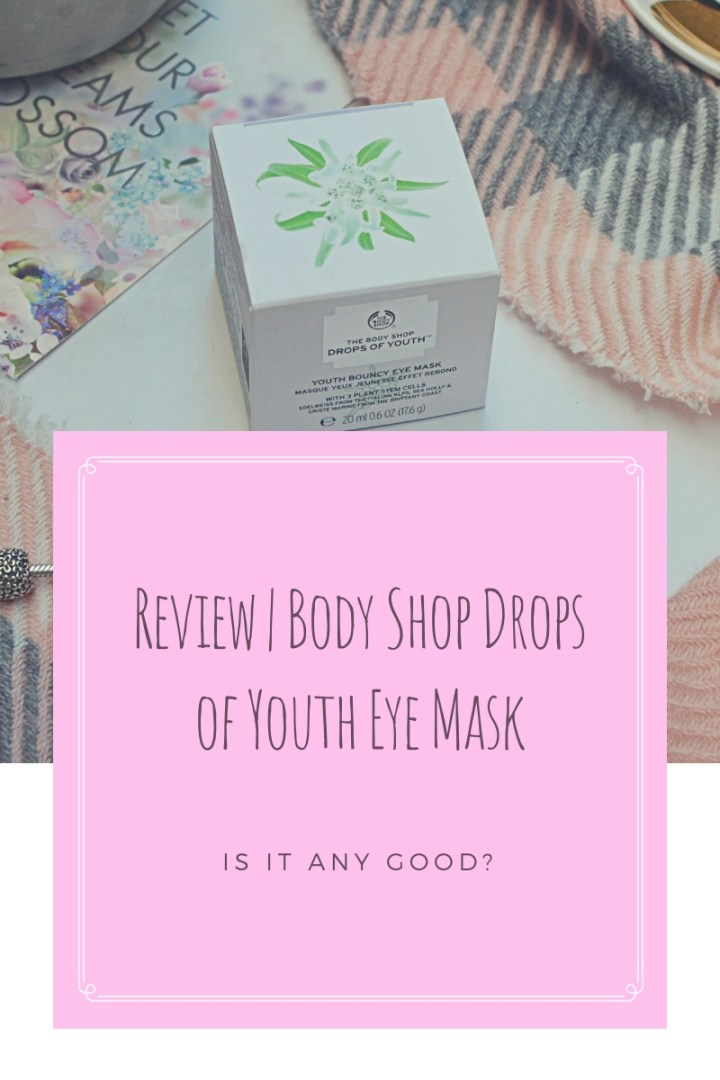 Body Shop Drops of Youth Eye Mask Top Image