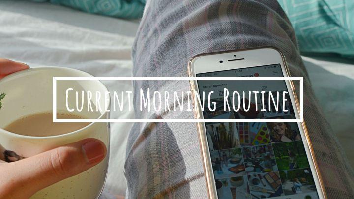 Lockdown Morning Routine