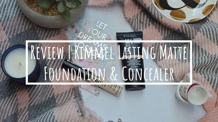 Review | Rimmel Lasting Matte Foundation & Concealer