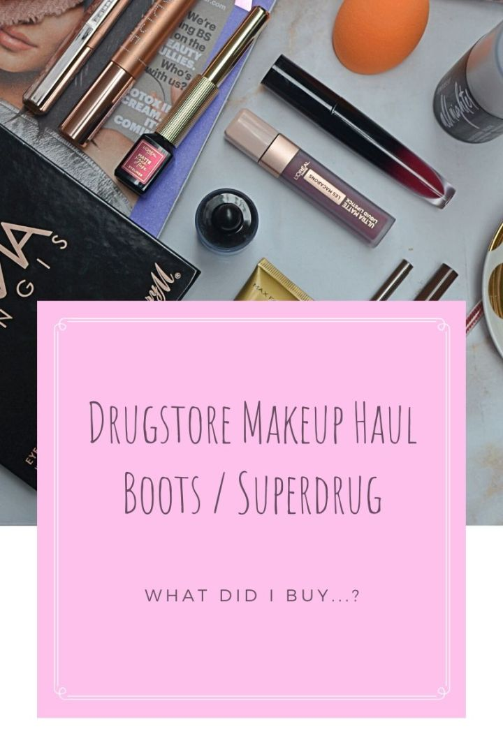 Drugstore Affordable Makeup Haul