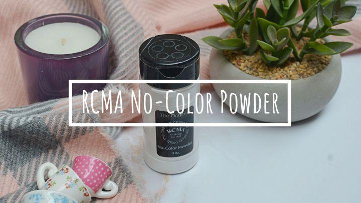 Worth The Hype? | RCMA No Colour Powder