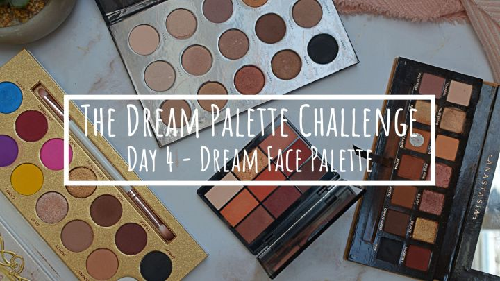The Dream Palette Challenge | Face Palette (With Eyeshadows)