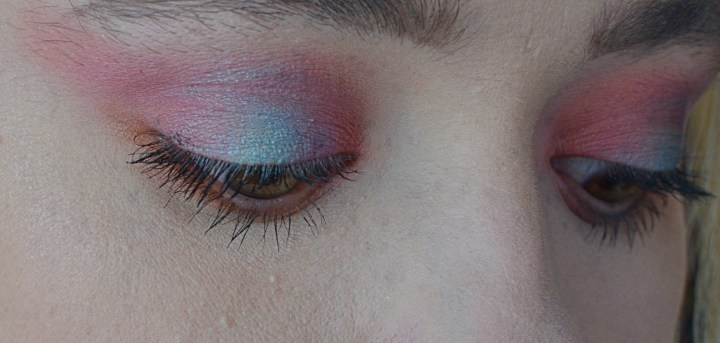 Makeup Tutorial Colourful Halo Eye