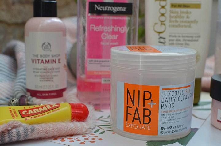 summer skincare routine nip + Fab Carmex