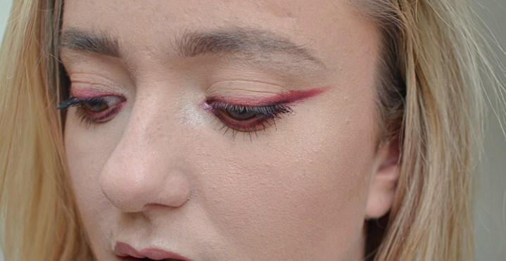FOTD | Burgundy Eyeshadow Liner