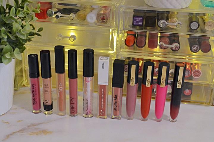 The Moving Makeup Declutter | 4. Lipsticks