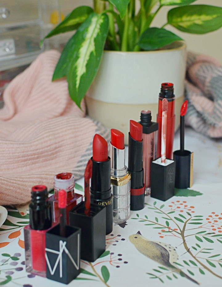 Festive Week In Lipsticks