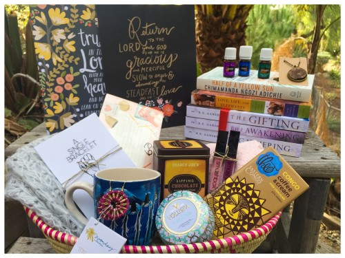 Reeds of Hope gift basket