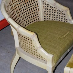 Bamboo Cane Back Chairs Marais Chair Knock Off Lucite Vintage Finds And Furniture Raleigh