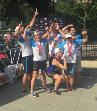 2016 Chicago Triathlon Team Ballou Skies